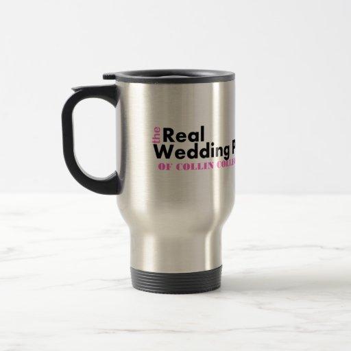Real Wedding Planner Travel Mug