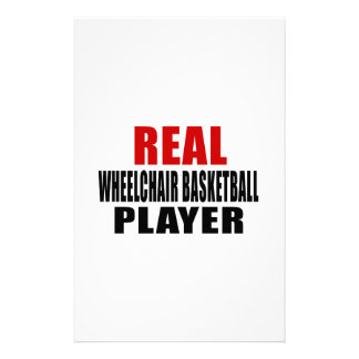 REAL WHEELCHAIR BASKETBALL STATIONERY