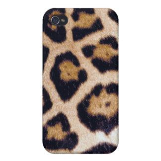 Real Wild Leopard Cat Print Speck iPhone Case
