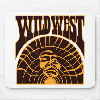 Real Wild West Indian Style Mouse Pad
