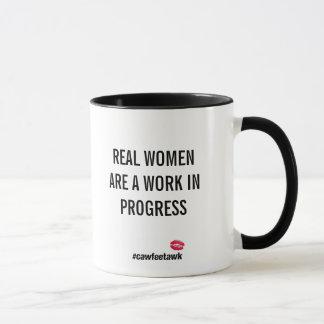 Real Women Are A Work In Progress (mug) Mug