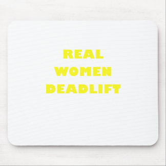 Real Women Deadlift Mouse Pad