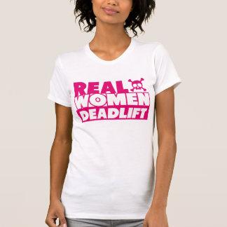 Real Women Deadlift T Shirts