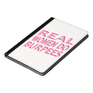 Real Women Do Burpees iPad Air Case