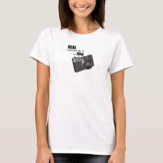 Real women do it on film T-shirt