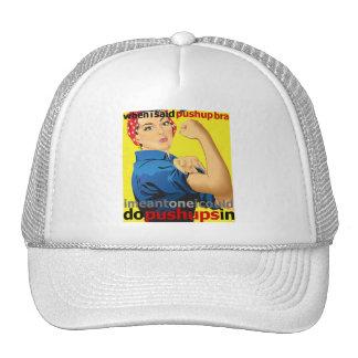 Real Women Do Pushups! Trucker Hat