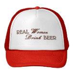 Real Women Drink Beer Trucker Hat