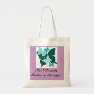 Real Women Embrace Change! Tote Bag