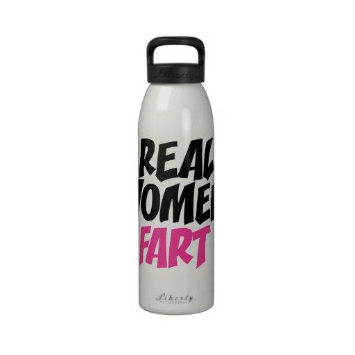 Real women fart drinking bottle