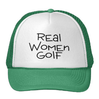 Real Women Golf Trucker Hat
