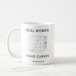 Real Women Have Curves Coffee Mug