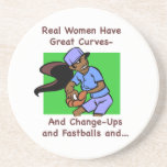 Real Women Have Great Curves Coaster