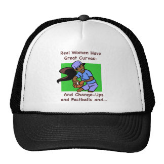 Real Women Have Great Curves Hat