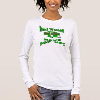 Real Women Have Pop Ups Long Sleeve T-Shirt