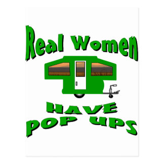 Real Women Have Pop Ups Postcard