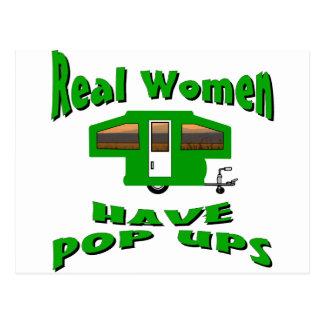 Real Women Have Pop Ups Postcard