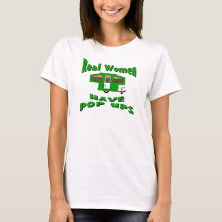 Real Women Have Pop Ups T-Shirt