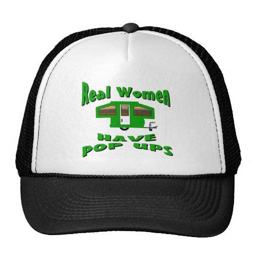 Real Women Have Pop Ups Trucker Hats