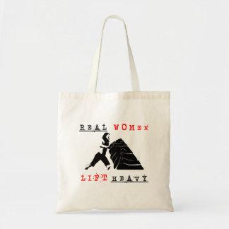 Real Women Lift Heavy Tote Bag