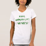 REAL WOMEN LIFT WEIGHTS! TANKTOP