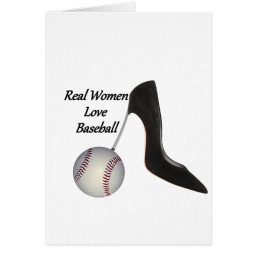 Real Women Love Baseball Card