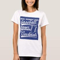 Real women love baseball T-Shirt