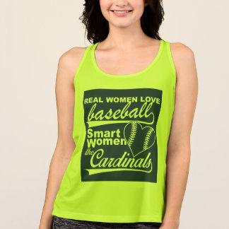 Real Women Love Baseball Tank Top