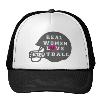 Real Women Love Football Apparel and Accessories Trucker Hat