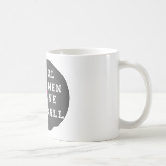 Real Women Love Football Apparel and Accessories Mugs