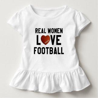 Real Women Love Football Toddler T-shirt