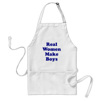 Real Women Make Boys Adult Apron
