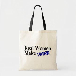 Real Women Make Twins (B) Canvas Bag