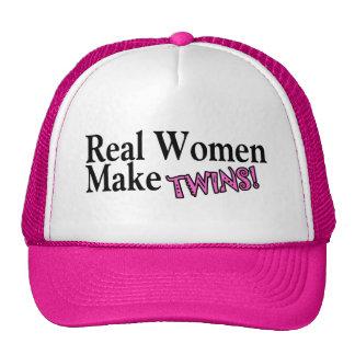 Real Women Make Twins (Pink) Trucker Hat