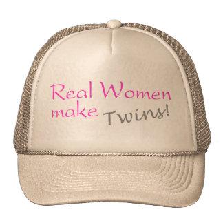 Real Women Make Twins Trucker Hat