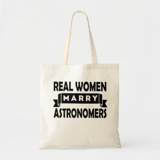 Real Women Marry Astronomers Budget Tote Bag