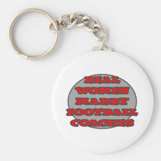 Real Women Marry Football Coaches Key Chain