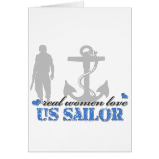 Real Women Navy Card