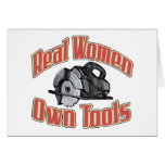 Real women own tools Card