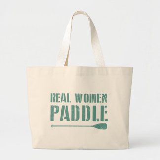 Real Women Paddle Large Tote Bag