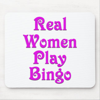 Real Women Play Bingo Mouse Pad