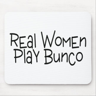 Real Women Play Bunco Mouse Pad