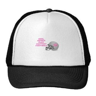 Real Women Play Fantasy Football Mesh Hats