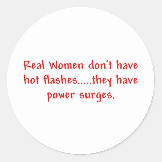 Real Women...Power Surges Sticker