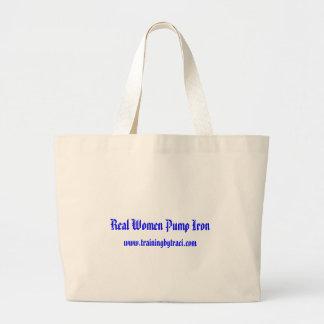 Real Women Pump Iron, www.trainingbytraci.com Bag