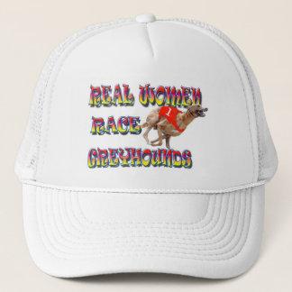 Real Women Race Greyhounds 2 Trucker Hat