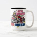 Real Women Ride American Motorcycles Coffee Mug Mug