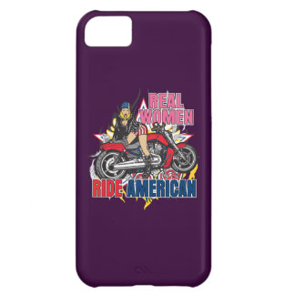 Real Women Ride American Motorcycles iPhone Case