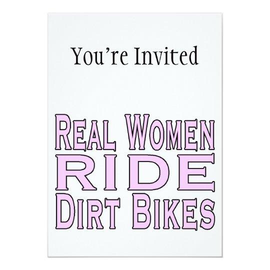 Real Women Ride Dirt Bikes Card