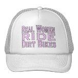 Real Women Ride Dirt Bikes Trucker Hat