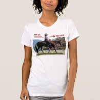 Real Women Ride Mules Tee Shirts